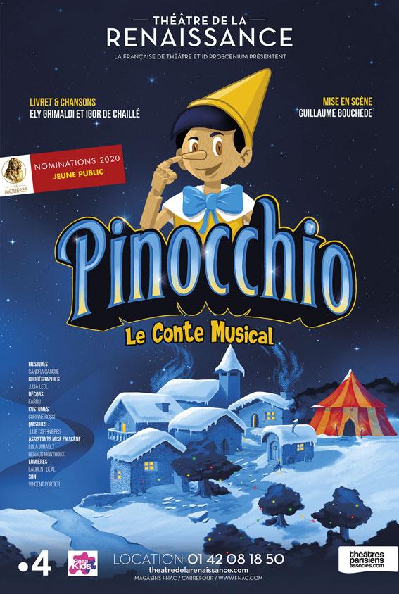 Pinocchio affiche
